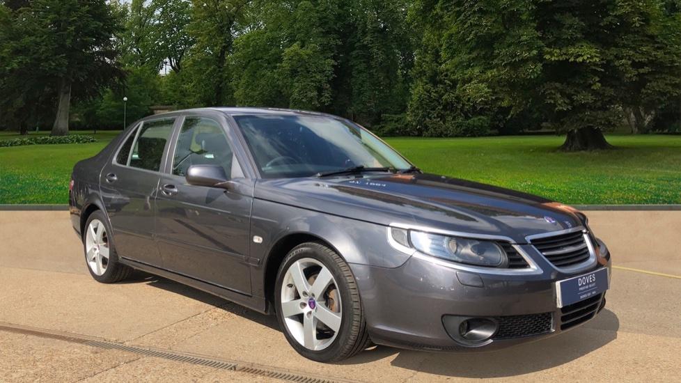 Saab 9-5 1.9TiD Turbo Edition Auto, Rear Parking Sensors, Full Black Leather, Climate AC, Heated Seats Diesel Automatic 4 door Saloon (2009)