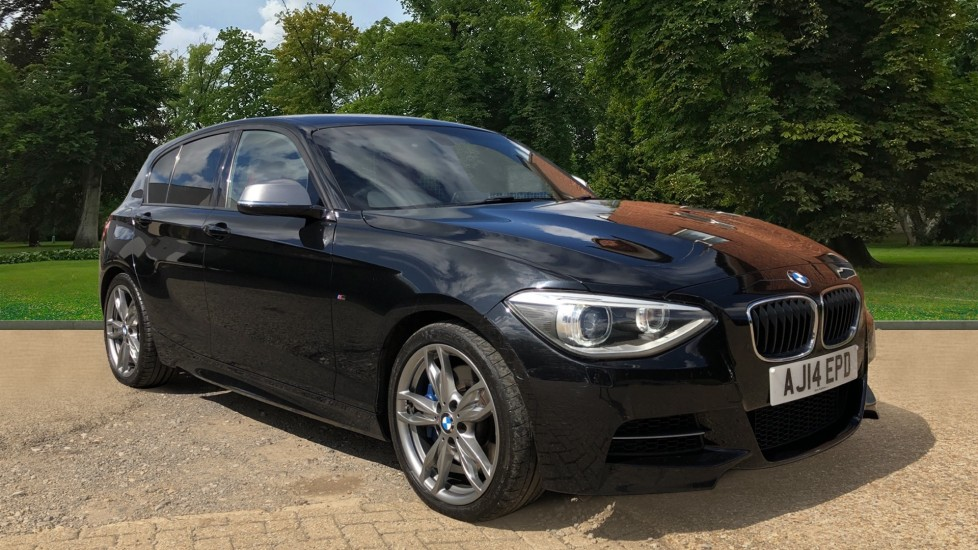 BMW 1 Series M135i M Performance Auto, 315bhp, Nav, Rear Sensors, Tints, Paddle Shifters, DAB, Red Leather 3.0 Automatic 5 door Hatchback (2014)