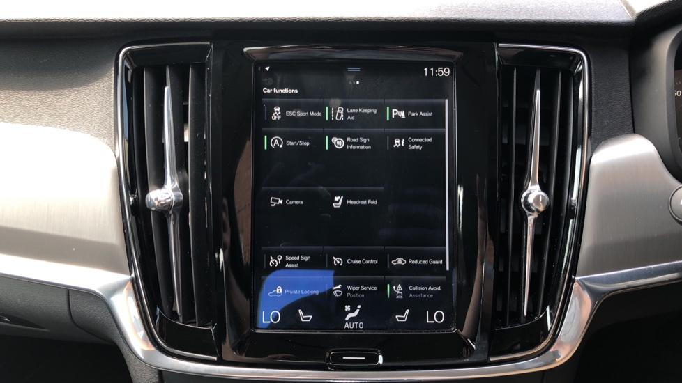 Volvo S90 D4 Momentum Nav Auto with Rear Cam, Adaptive Cruise Control, Lane Keeping Aid & Keyless Drive image 22