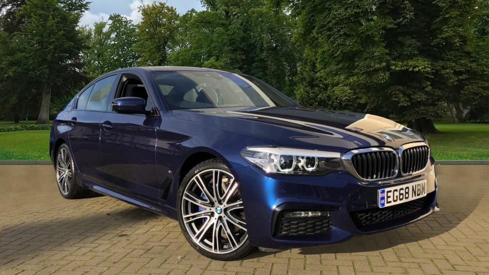 BMW 5 Series 530e M Sport Auto, Plug In Hybrid, Rear Camera, Heated Seats, Nav, 80Gb Hard Drive, DAB Radio 2.0 Petrol/Electric Automatic 4 door Saloon (2018) image