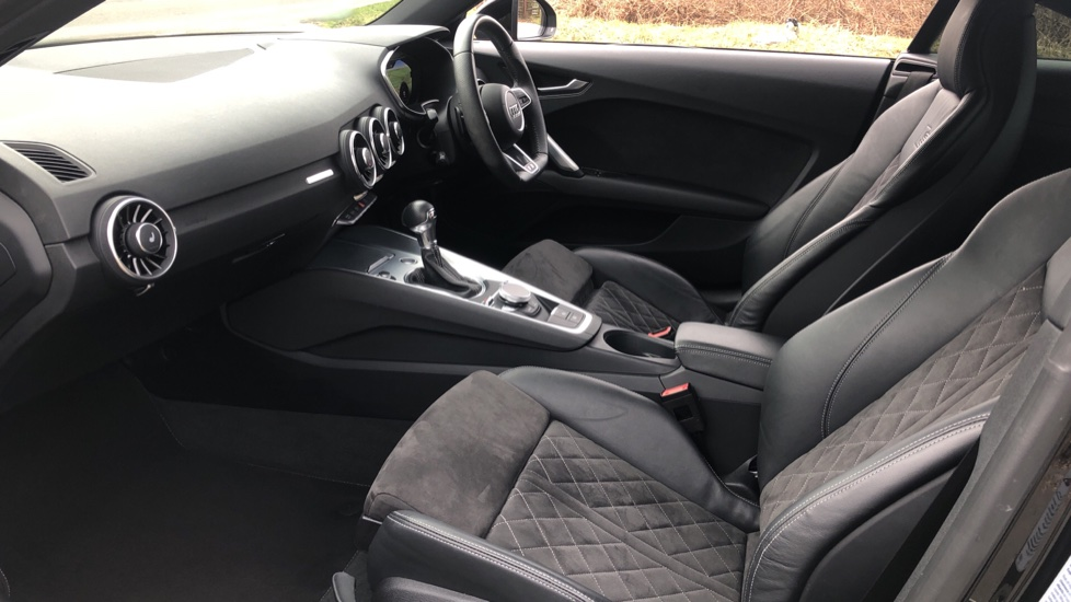Audi TT Coupe 40 TFSI S Line 2dr Auto, Heated Seats, Virtual Drivers Cockpit, Nav, Wireless Phone Charging image 3