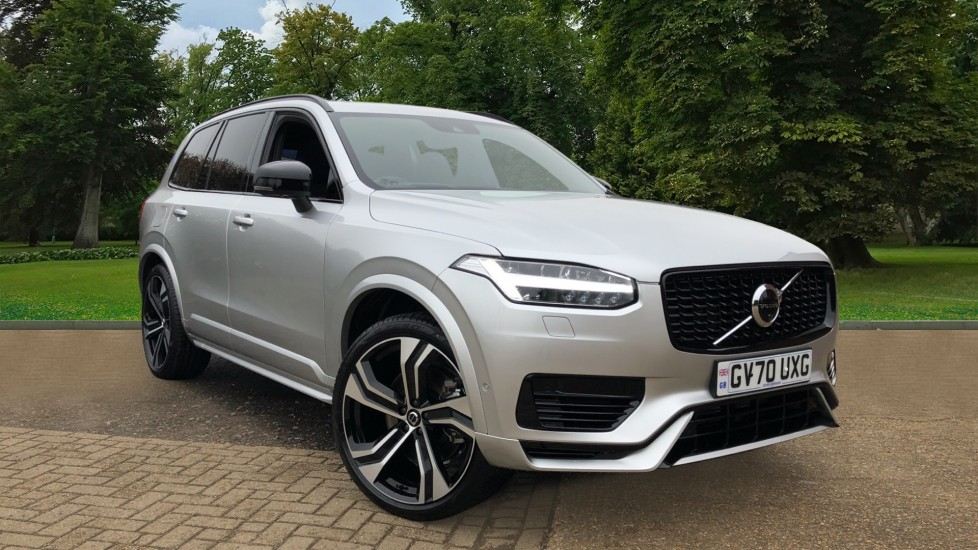 Volvo XC90 T8 Recharge PHEV R Design Pro AWD Auto, Lounge, Climate & Driver Assist Packs, Sunroof, B & W 2.0 Petrol/Electric Automatic 5 door 4x4 (2021)