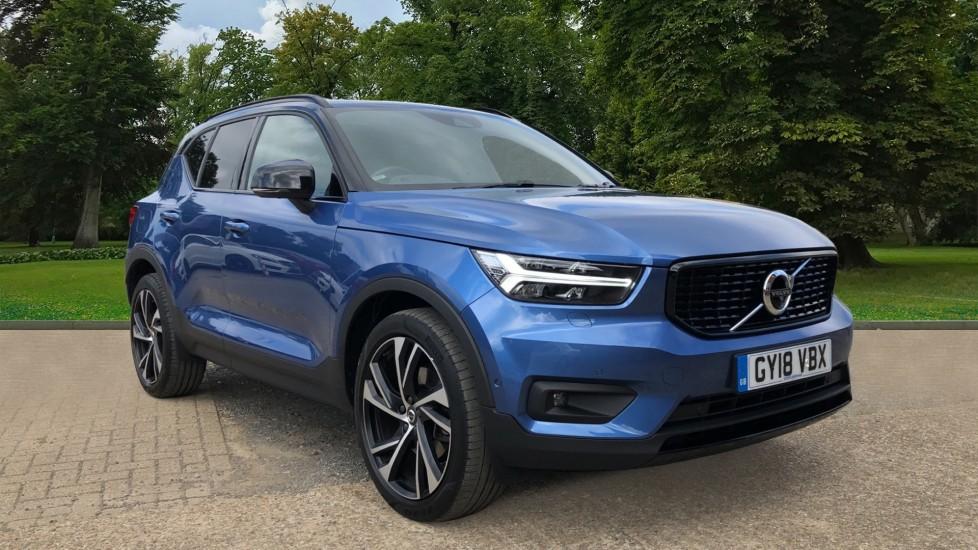 Volvo XC40 T4 R Design Pro AWD Auto, Nav, Sunroof, 360 Camera, Active Bending Lights, Apple CarPlay 2.0 Automatic 5 door 4x4 (2018)