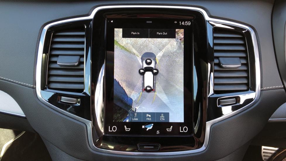 Volvo XC90 T8 Hybrid R Design Pro AWD Auto, 360 Camera, Panoramic Roof, F & R Park Sensors, Keyless Drive image 6