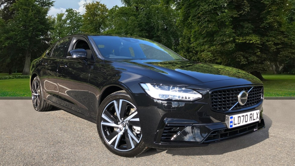 Volvo S90 T8 Recharge PHEV R Design AWD Auto, Climate Pack, Nav, Heated Screen, Rear Camera, Keyless Drive 2.0 Petrol/Electric Automatic 4 door Saloon (2020) image
