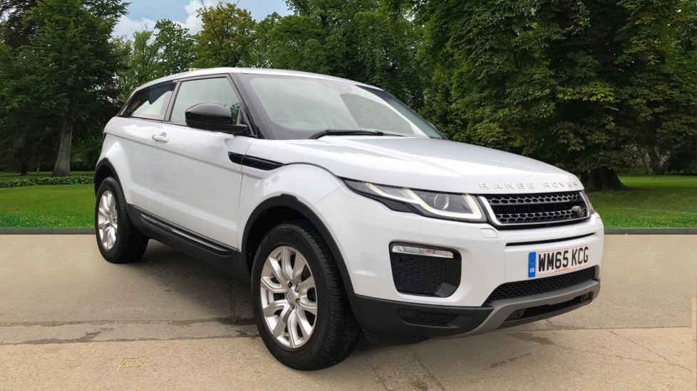 Land Rover Range Rover Evoque 2.0 eD4 SE Tech 3dr 2WD Manual, Nav, Bluetooth, Heated Seats, Leather, Cruise Control Diesel Coupe (2015)