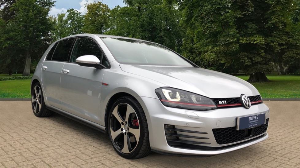 Volkswagen Golf 2.0 TSI GTI 5dr DSG, Nav, F+R Parking Sensors, Keyless Start & Drive, Adaptive Cruise Automatic Hatchback (2017)