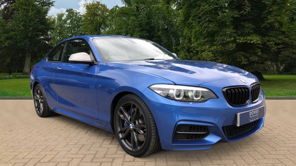 BMW 2 Series M240i 3.0 335hp Auto with Rear Park Sens, Bluetooth, DAB Radio, Keyless Drive 7 Gear Shift Paddles Automatic 2 door Coupe (2017) available from County Motor Works Vauxhall thumbnail image