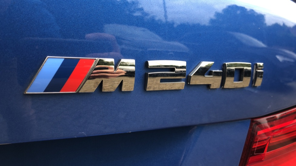 BMW 2 Series M240i 3.0 335hp Auto with Rear Park Sens, Bluetooth, DAB Radio, Keyless Drive 7 Gear Shift Paddles image 48