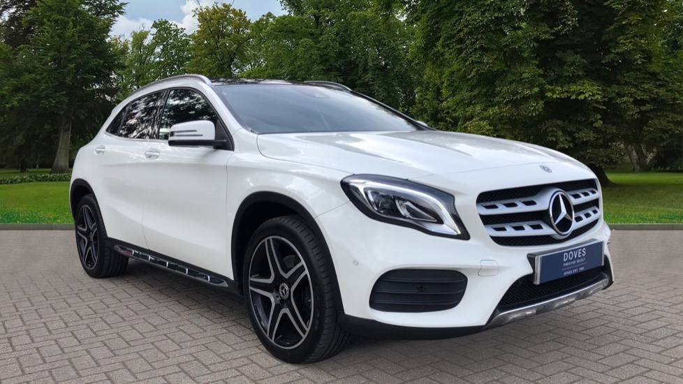 Mercedes-Benz GLA-Class GLA 250 4Matic AMG Line Premium Plus Auto, Nav, Sunroof, R.Camera, Heated Seats, F & R Sensors 2.0 Automatic 5 door Hatchback available from Jaguar Brentwood thumbnail image